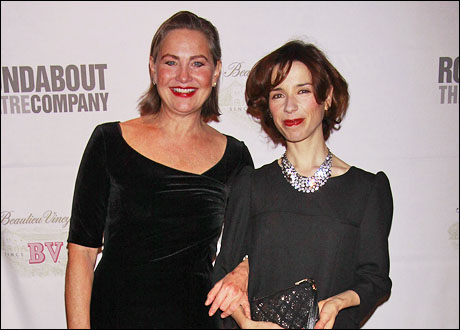 Cherry Jones and Sally Hawkins