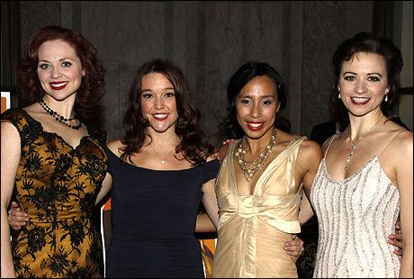 Kristen Beth Williams, Cameron Adams, Mayumi Miguel and Helen Anker