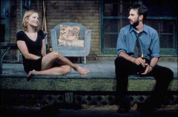Jennifer Jason Leigh and Josh Hamilton