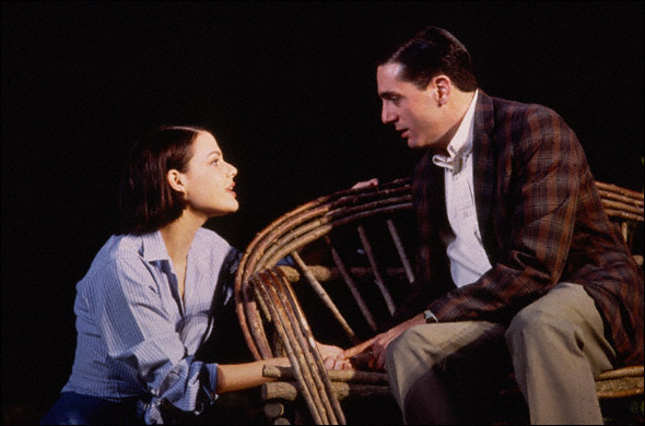 Suzanne Cryer and Reg Rogers in Proposals