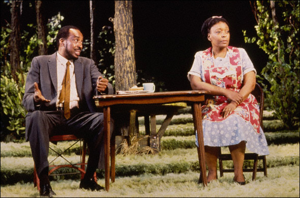 L. Scott Caldwell and Mel Winkler in Proposals