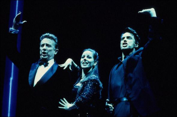 George Hearn, Ruthie Henshall, and John Barrowman