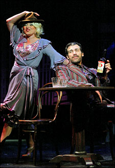 Liz Larsen and Joey Sorge