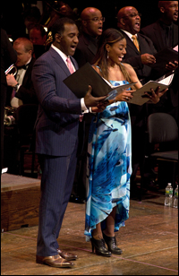 Norm Lewis and Patina Miller