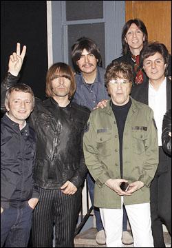 Chris Sharrock, Liam Gallagher, Joe Bithorn, David Leon, Joe Bologna and Joey Curatolo