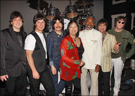 Mark Beyer, Joey Curatolo, Joe Bithorn, May Pang, Andre DeShields, Ralph Castelli and Steve Landes