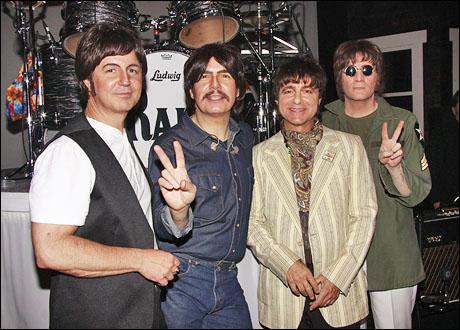 Joey Curatolo, Joe Bithorn, Ralph Castelli and Steve Landes