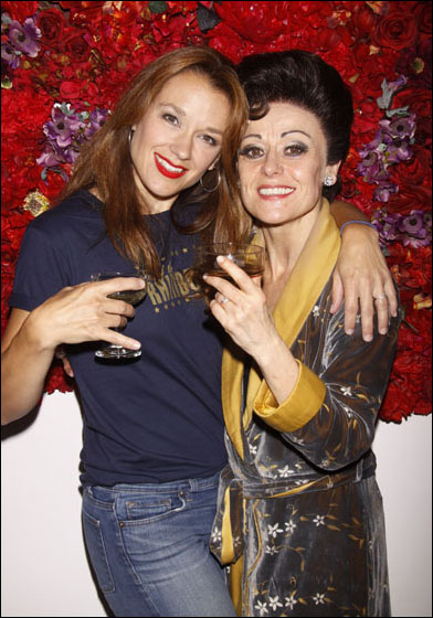Sarah Uriarte Berry and Tracie Bennett
