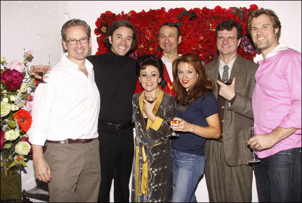 Don Noble, Tom Pelphrey, Tracie Bennett, Jay Russell, Sarah Uriarte Berry, Michael Cumpsty and Erik Heger