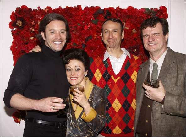 Tom Pelphrey, Tracie Bennett, Jay Russell and Michael Cumpsty