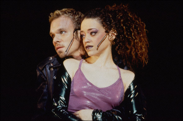 Norbert Leo Butz and Marcy Harriell