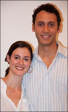 Katharine Powell and Elliot Villar