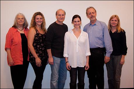 Lois Smith, Meredith Holzman, Peter Friedman, Katharine Powell, Mark Blum and Mare Winningham