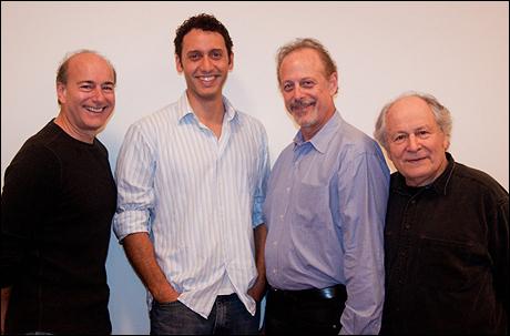 Peter Friedman, Elliot Villar, Mark Blum and David Margulies