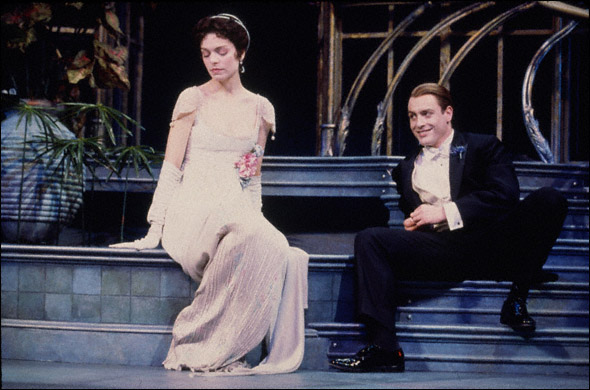 Gretchen Egolf and Toby Stephens