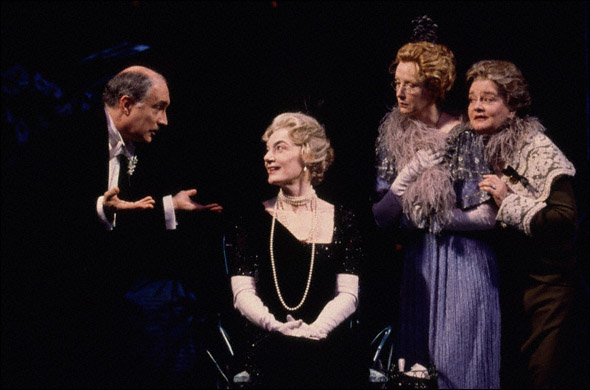 Simon Jones, Marian Seldes, Frances Conroy, and Joyce Van Patten
