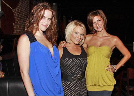 Erika Shannon, Angela Brydon and Casey Tuma