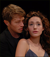 Austin Levy and Emmy Rossum