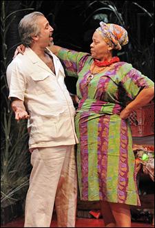Joseph Kamal and Tonye Patano