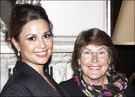 Lea Salonga and Helen Reddy