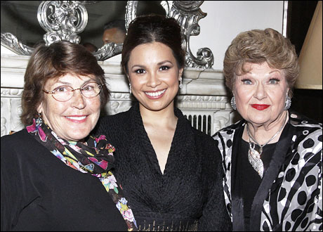 Helen Reddy, Lea Salonga and Marilyn Maye