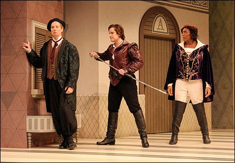 Bill Irwin, Patrick Lane and Gregory Wallace
