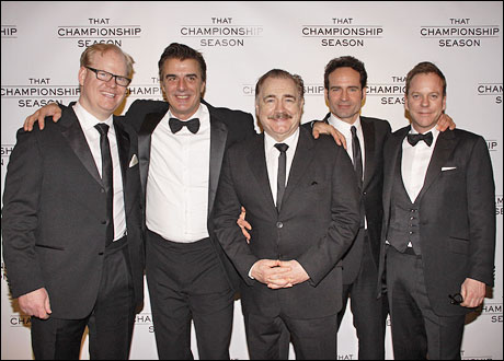 Jim Gaffigan, Chris Noth, Brian Cox, Jason Patric and Kiefer Sutherland
