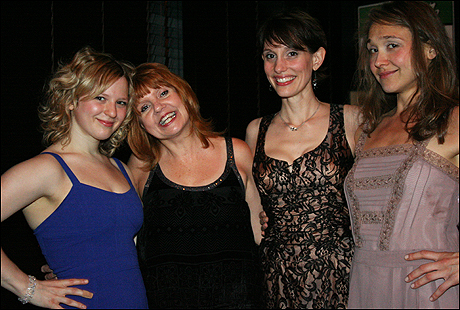 Emily Walton, Annie Golden, Jamey Hood and Sarah Sokolovic