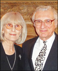 Margery Gray Harnick and Sheldon Harnick