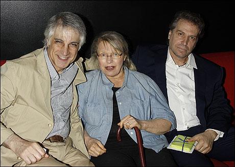 Michael Citriniti, Louise Lasser and Antony Marsellis