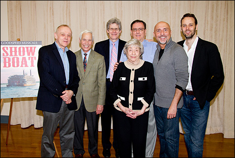 Bruce Pomahac, Michael P. Price, Ted Chapin, Michael O'Flaherty, Rob Ruggiero, Noah Racey and Alice Hammerstein Mathias (front)