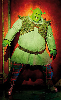 Nigel Lindsay as Shrek