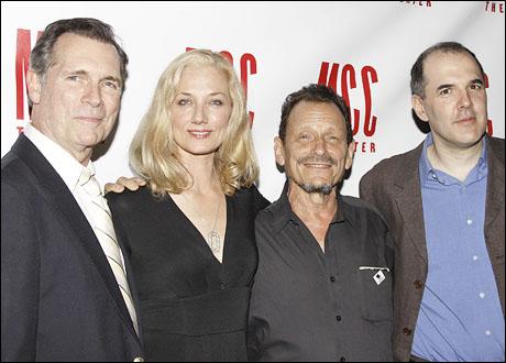 Cotter Smith, Joely Richardson, Michael Weller and David Auburn