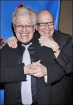 Jerry Zaks and Anthony Van Laast