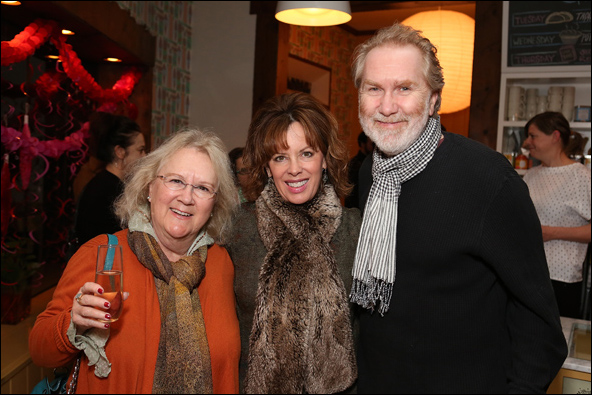 Dawn Didawick, Jeanie Hackett and Harry Groener