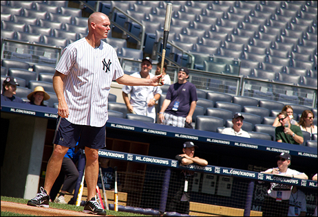 Former Yankees player Jeff Nelson