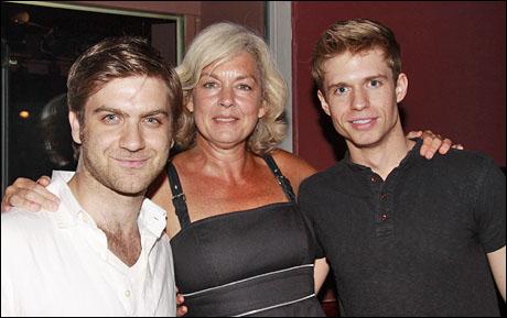 Harris Doran, Michele Pawk and Hunter Ryan Herdlicka
