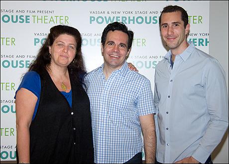 Sheryl Kaller, Mario Cantone and David Solomon