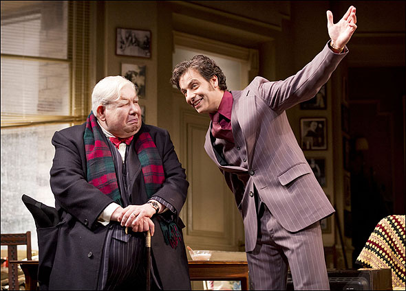 Richard Griffiths and Adam Levy