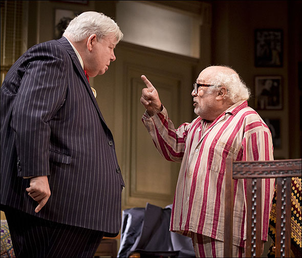 Richard Griffiths and Danny DeVito