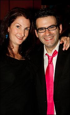 Jennifer Werner and Joe Iconis