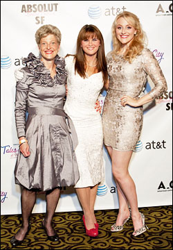 Carey Perloff, Mary Birdsong and Betsy Wolfe