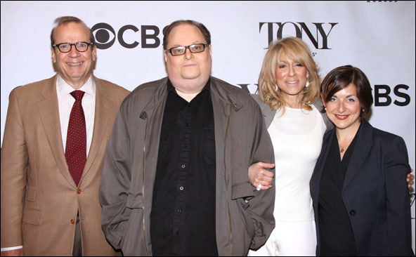 Barry Grove, Richard Greenberg, Judith Light and Mandy Greenfield