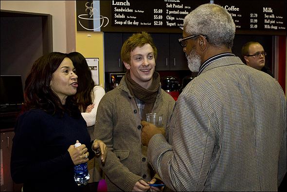 Yvette Ganier, Jeff Familetti and Lee Richardson