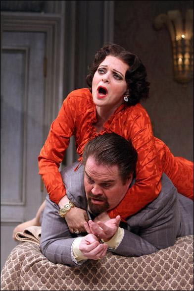 Judy Blazer and John Treacy Egan