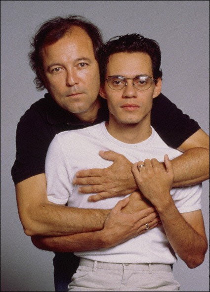Ruben Blades and Marc Anthony