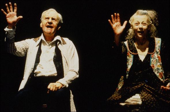 Geraldine McEwan and Richard Briers