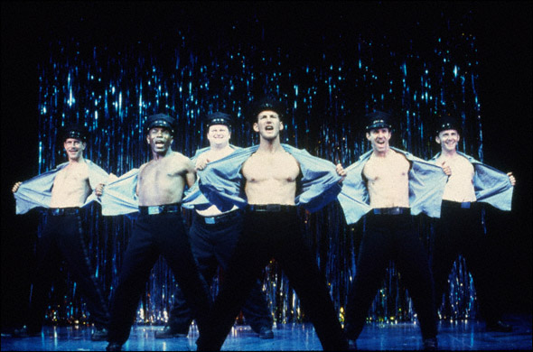 A Scene from The Full Monty