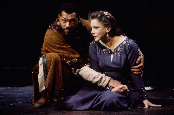 Laurence Fishburne and Stockard Channing