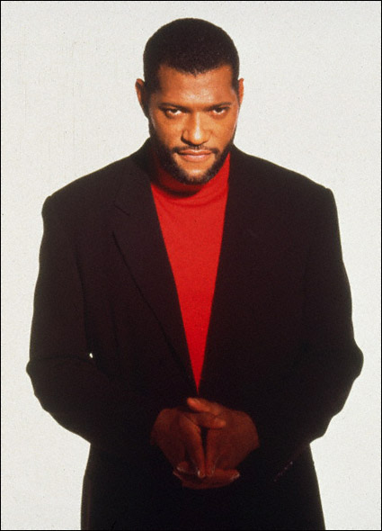Laurence Fishburne in a promotional shot